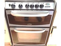 Cannon 10548G MK3 4 Hob Gas Cooker & Oven & Grill