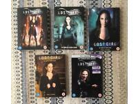 Lost Girl DVDs seasons 1 - 5 boxset