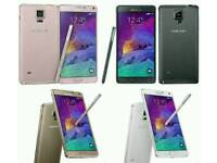 Unlocked Brand New Samsung Galaxy Note 4 32gb Open To All Networks Mostly All Colours