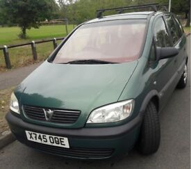 Vauxhall Zafira MPV 1.6 i 16v Club 5dr (a/c) Low Millage