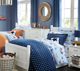 Pottery Barn Camp Bed (White)
