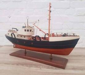 Large Model Of A Fishing Boat (DELIVERY AVAILABLE)