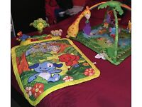 VTech Explore and Learn Mat & Fisher Price Rainforest Melodies And Lights