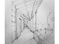 Freehand Architectural Drawing Lessons