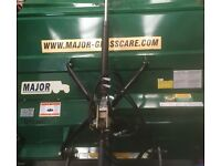 Tractor Mounted Flail Collector Mower