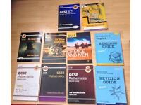 GCSE revision guides. Books