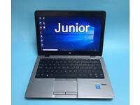 HP i5 Vpro UltraFast 256GB SSD, 8GB Ram Slim HD High End Laptop Like New,Ms office,Like a MacBook