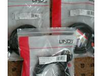 Extra long Lindy 3 meter DVI-D cable