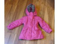 Trespass Girls Gizella Waterproof Windproof Padded Lined Jacket Pink, 3 - 4 years