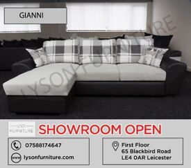 GIANNI SOFABED, Corner Sofa, Sofa Set, 3+2 Seater - COME HAVE A LOOK AT OUR SHOWROOM IN LEICESTER