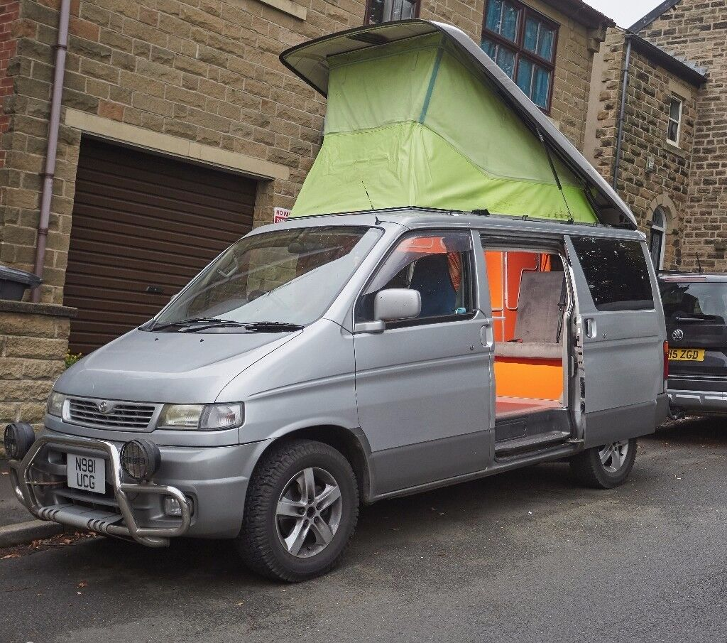 Mazda Bongo Camper With Full Side Conversion 11 Months MOT