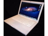 "Apple Macbook Laptop 2Ghz/4GB/250GB/USB/AUDIO/DVD-Combo/13.3""/Wifi/Bluetooth/Office/OSX Lion etc"