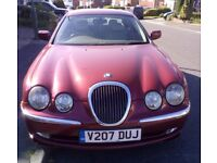 Lovely Jag 3 litre v6 Auto S type. FSH, MOT 8/8 no advisories. EXCELLENT conditiion.