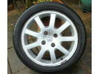 "Peugeot 206 16"" alloy wheel wanted"