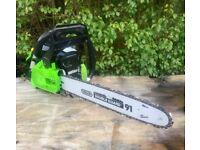 "Handy THPCS16 38cc 16"" Petrol Chainsaw + WARRANTY! RRP £120!"