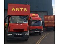 Ants Removals Ltd - looking for HGV driver Class 2 Permanant Job Start Immediately