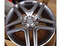 """Mercedes Style ML63 Alloys 22"""""""
