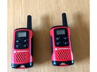 Motorola Talker T40 4km Range. 2-Way Radio - Twin