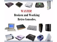 Wanted Broken and Working Retro Consoles!