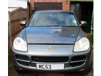 Porsche Cayenne 4.5 S Tiptronic Spares or Repair 2 Previous owners - 4wd 340bhp 150mph