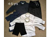 Boy's clothes bundle 4-5 yrs + 5-6 yrs (Ted Baker,John Lewis..)