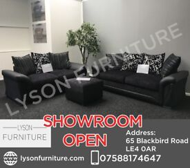 Shannon 3+2 Sofa Set - COME HAVE A LOOK AT OUR SHOWROOM IN LEICESTER