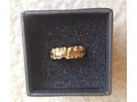 Gold on Silver ladies bespoke designer ring