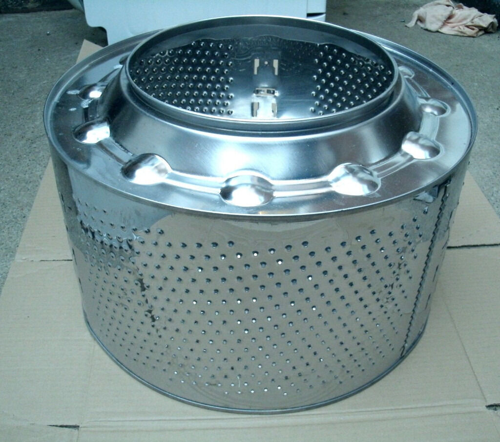 Recycled Washing Machine Drum Fire Pit Wood Burner Patio