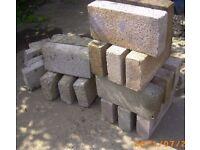 Concrete Blocks 11 new 6 old 100mm 7.3N 440x215x100mm BRISTOL