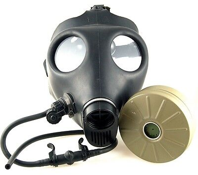 Israeli Civilian Gas Mask Adult With Filter And Straw Model 4a1