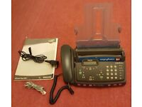 Philips Magic 2 Voice Telephone Answering Machine & Fax, Model PPF470/05B