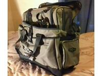 Brand new with tags on Korum luggage & folding spoon net