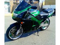 KAWASAKI ZX600-F3 NINJA 1997 FOR SALE IN SHOWROOM CONDITION OPEN TO OFFERS