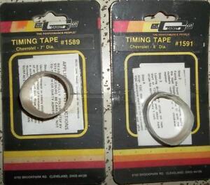 """TIMING TAPE FOR GM 7"""" & 8"""" BALANCERS MR GASKET #1589 & #1591"""