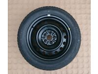 Toyota Avensis (03-08) Brand new 16 inch spare wheel with 205 55 R16 Bridgestone tyre