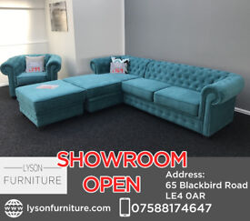 Imperial Corner Sofa £769 - COME HAVE A LOOK AT OUR SHOWROOM IN LEICESTER