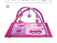 Pink baby play gym... excellent condition