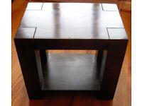 SOLID WOOD CHUNKY COFFEE TABLE ----------------------- £22 o.n.o. ---------------