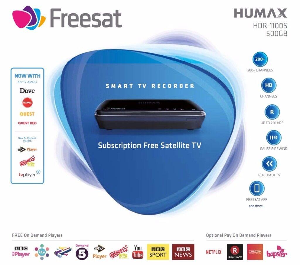 Freesat Smart TV Recorder Set-Top Box (brand new, never used & in original packaging, RRP £170)