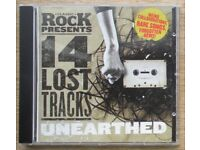 14 Lost Tracks Unearthed - Classic Rock Cover CD