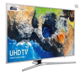 "65"" SAMSUNG Smart 4K Ultra HD HDR LED TV UE65MU6400U in the box"