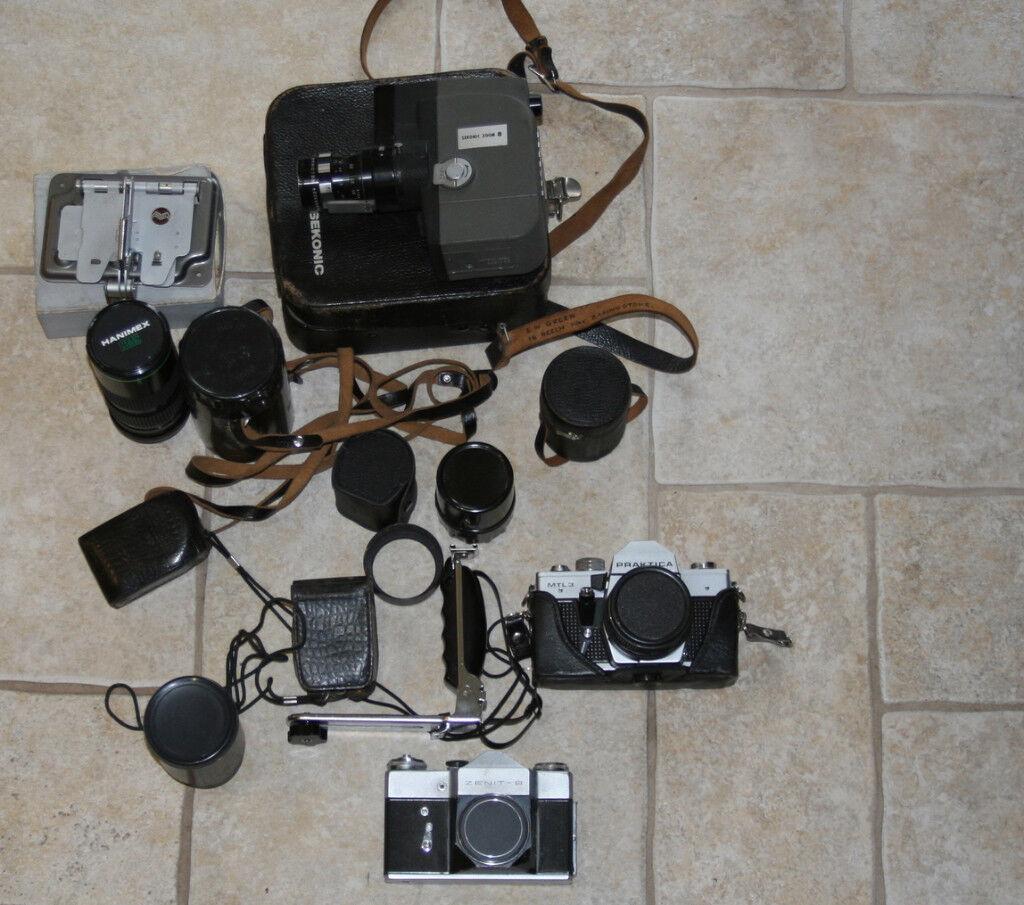 Old Cameras - Still and Cine