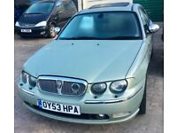 Rover 75 Connoisseur V6 pearl green metallic - black leather FUTURE CLASSIC IN EXCEPTIONAL CONDITION