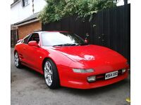 Toyota MR2 Turbo Rev3 T-bar FSH Excellent Condition Long MOT
