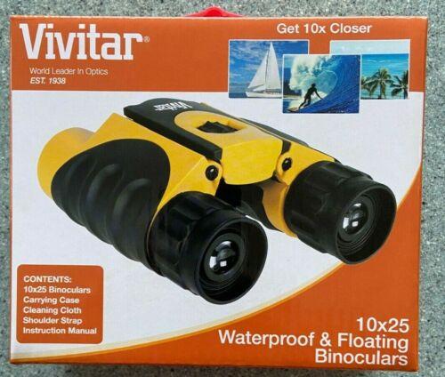 New Vivatar 10x25 Waterproof Binoculars Floats on Water