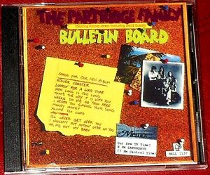 BULLETIN BOARD CD PARTRIDGE FAMILY NEW SPECIAL ED W/ 3 BONUS TRKS DAVID CASSIDY