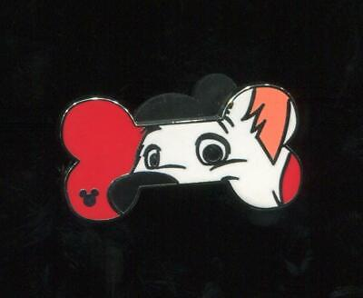 WDW 2017 Hidden Mickey Dog Bone Bolt Disney Pin 119803