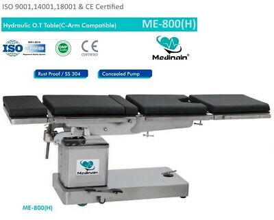 C-arm Compatible Hydraulic Operation Theater Table Ot Table Operating Surgical T