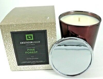 NEW Anderson Lilley Pine Forest No 3 Scented Candle 12 oz / 340 g