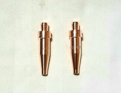 New Victor Style 0-3-101 Acetylene Cutting Torch Tip Lot Of 2 Ca1350 Cst800